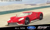 2016 Ford GT Black Revel