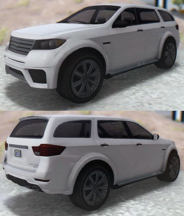 GTA San Andreas GTA Bravado Gresley (Detonator) Mod ...