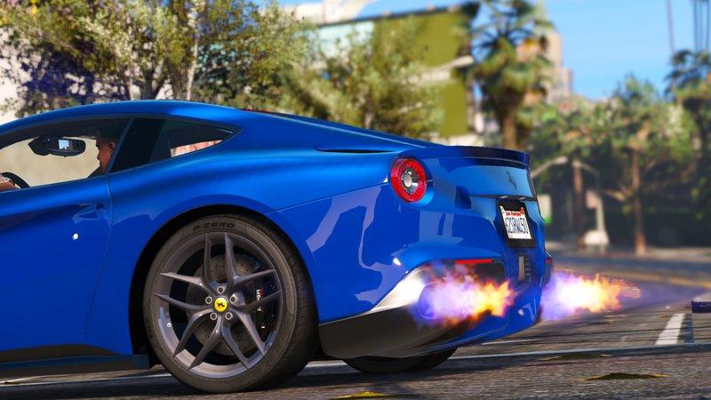 Gta 5 2013 Ferrari F12 Berlinetta Mod Gtainside