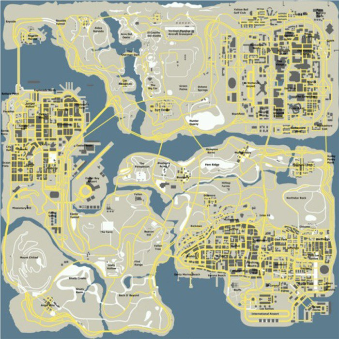 Google Map Request: GTA San Andreas Google Style Radar Map Mod