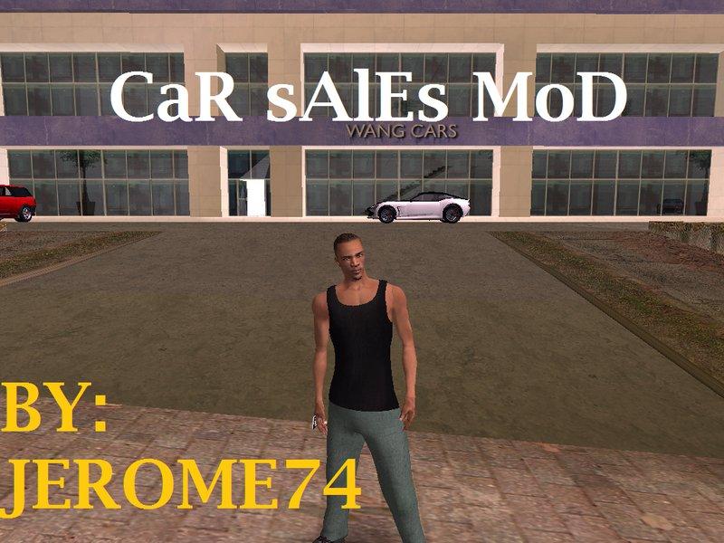 GTA San Andreas Car Sales Mod Mod - GTAinside com