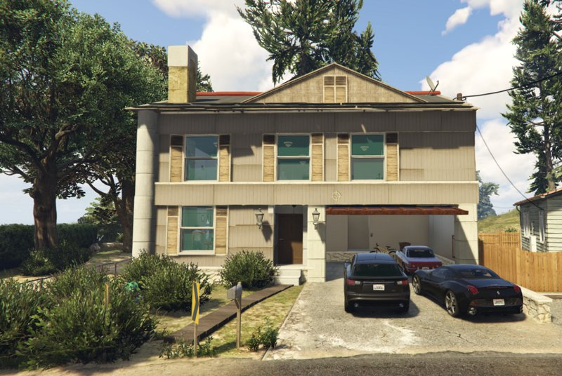 Gta 5 new american house mod for Americanhouse com