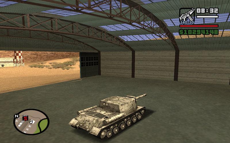 gta san andreas world of tanks mod