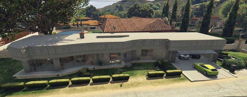 GTA 5 Modern House Mod  GTAinsidecom