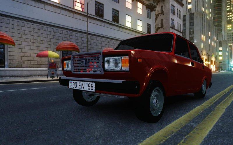 Vaz2107 Aze Style для GTA IV - Скриншот 3
