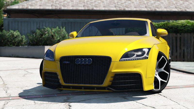 Audi TT RS 2013 для GTA V - Скриншот 3