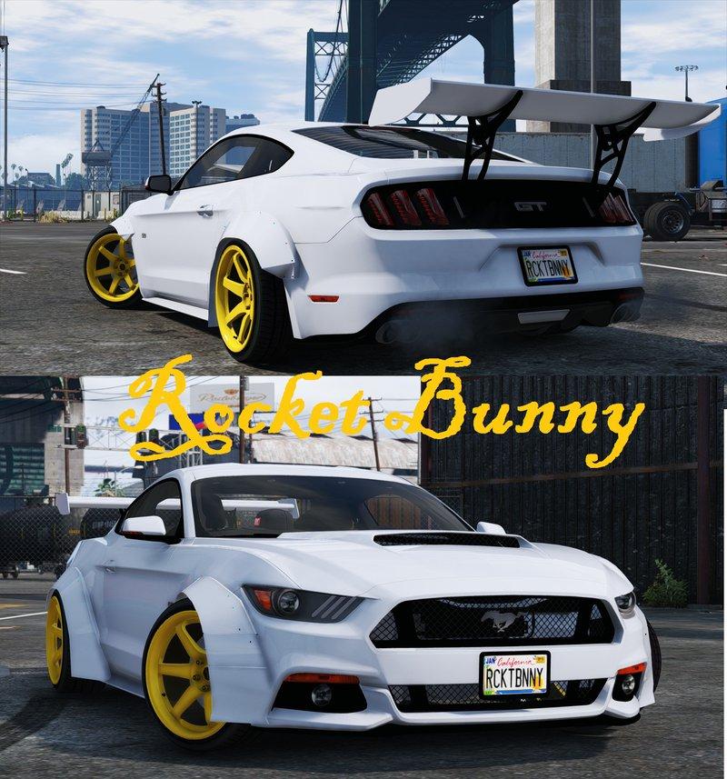 Ford Mustang GT [RocketB & Wide Body] для GTA V - Скриншот 1