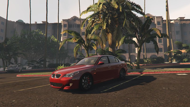 2006 BMW M5 для GTA V - Скриншот 2