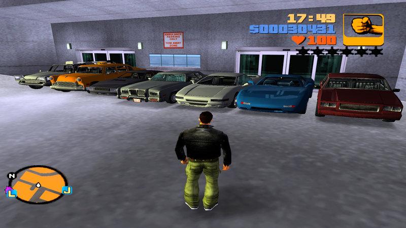 GTA 3 GTA3: San Andreas Car Pack + ENB Mod - GTAinside com