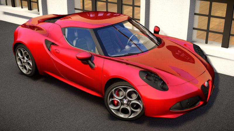 2014 Alfa Romeo 4c для GTA IV - Скриншот 1