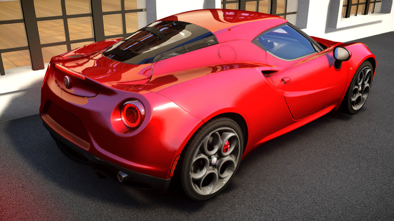 2014 Alfa Romeo 4c для GTA IV - Скриншот 2