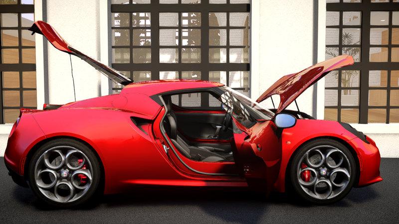 2014 Alfa Romeo 4c для GTA IV - Скриншот 3