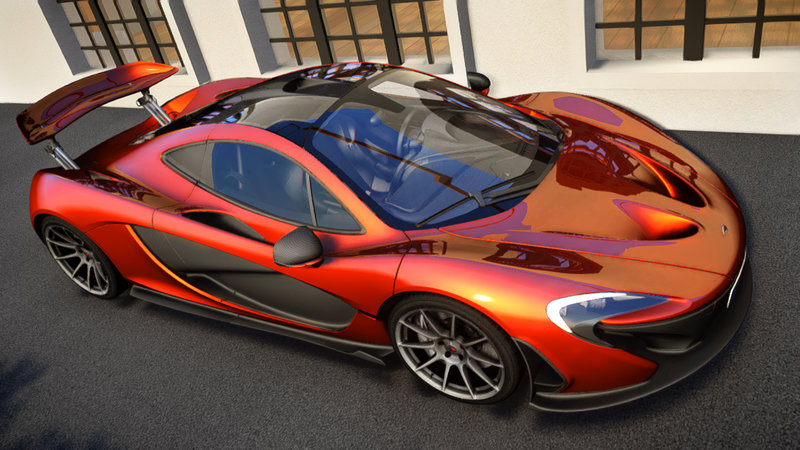 2013 McLaren P1 [EPM] (Update1.2) для GTA IV - Скриншот 1