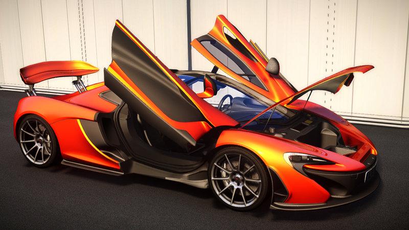 2013 McLaren P1 [EPM] (Update1.2) для GTA IV - Скриншот 3
