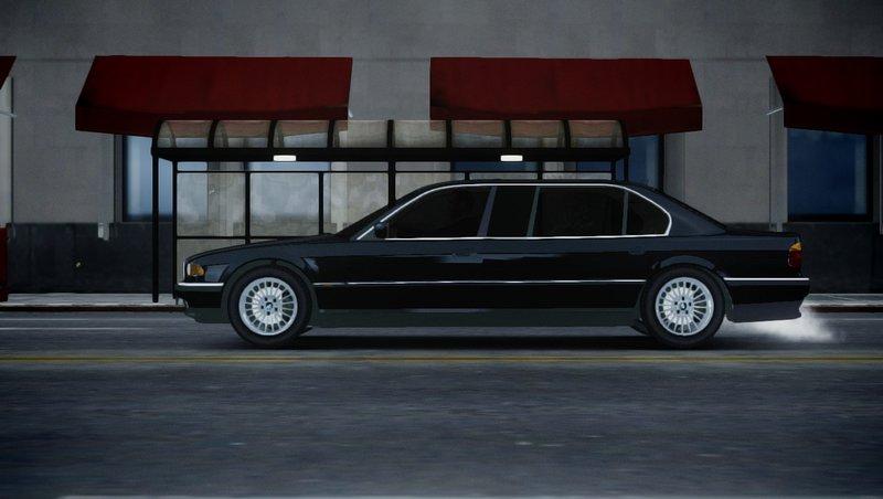2001 BMW L7 (750IL E38) для GTA IV - Скриншот 3