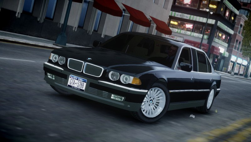 2001 BMW L7 (750IL E38) для GTA IV - Скриншот 1