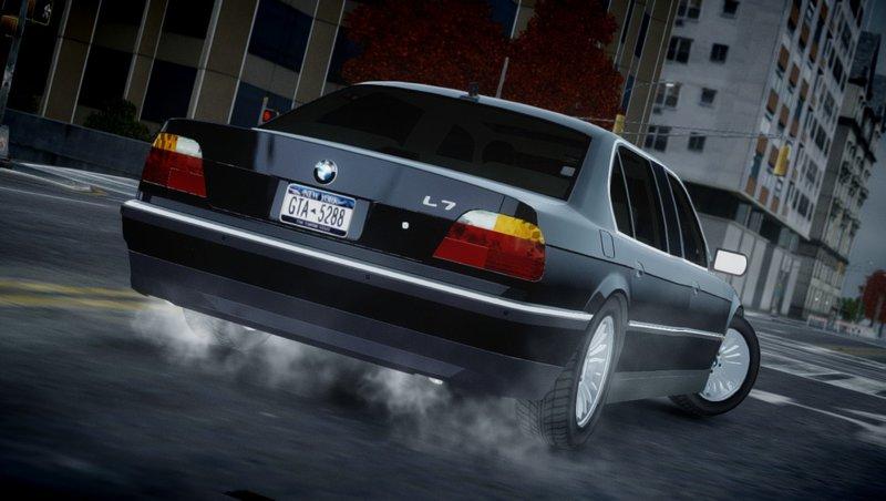 2001 BMW L7 (750IL E38) для GTA IV - Скриншот 2