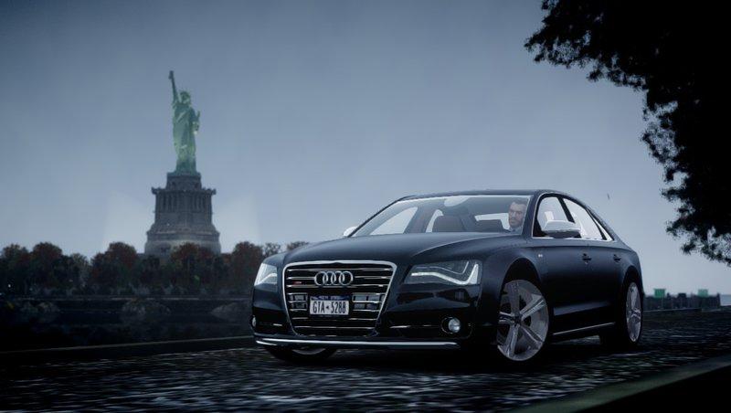 2013 Audi S8 для GTA IV - Скриншот 1