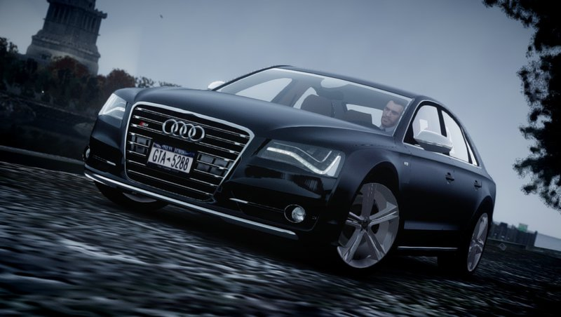 2013 Audi S8 для GTA IV - Скриншот 2