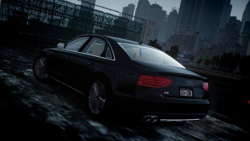 2013 Audi S8 для GTA IV - Скриншот 3
