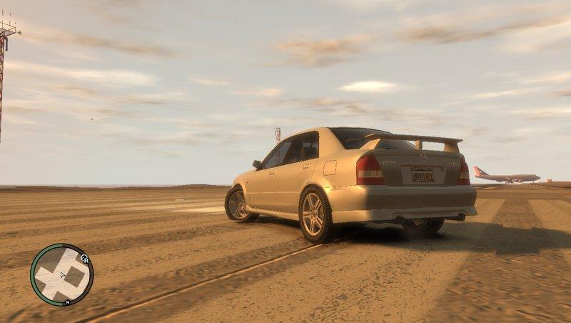 Mazda MazdaSpeed Familia для GTA IV - Скриншот 2