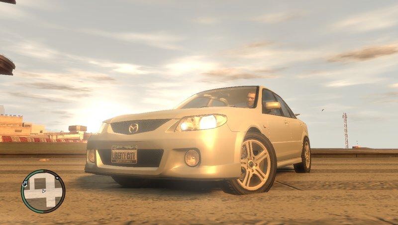Mazda MazdaSpeed Familia для GTA IV - Скриншот 1