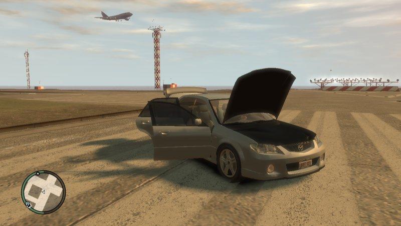 Mazda MazdaSpeed Familia для GTA IV - Скриншот 3
