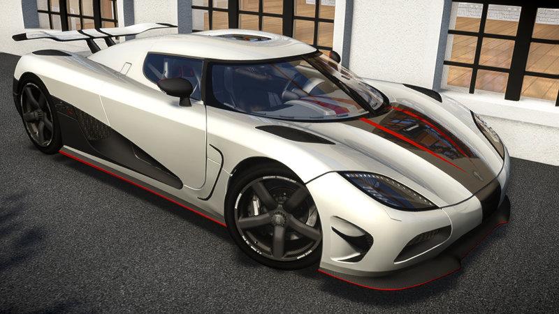 GTA 4 2013 Koenigsegg Agera R [EPM] (UpdateV2 1) Mod