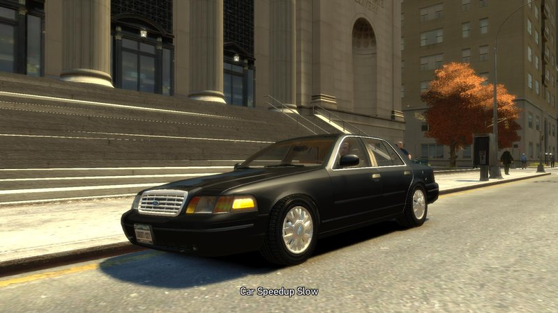 2003 Ford Crown Victoria для GTA IV - Скриншот 2