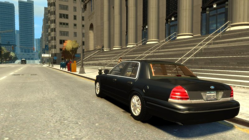2003 Ford Crown Victoria для GTA IV - Скриншот 3
