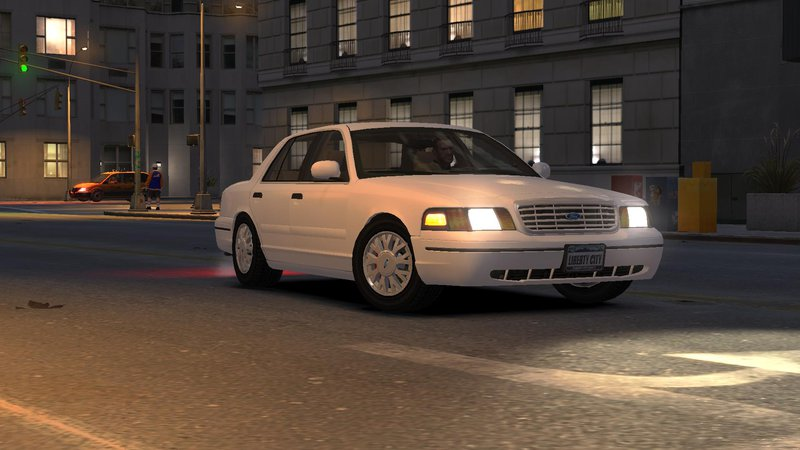 2003 Ford Crown Victoria для GTA IV - Скриншот 1