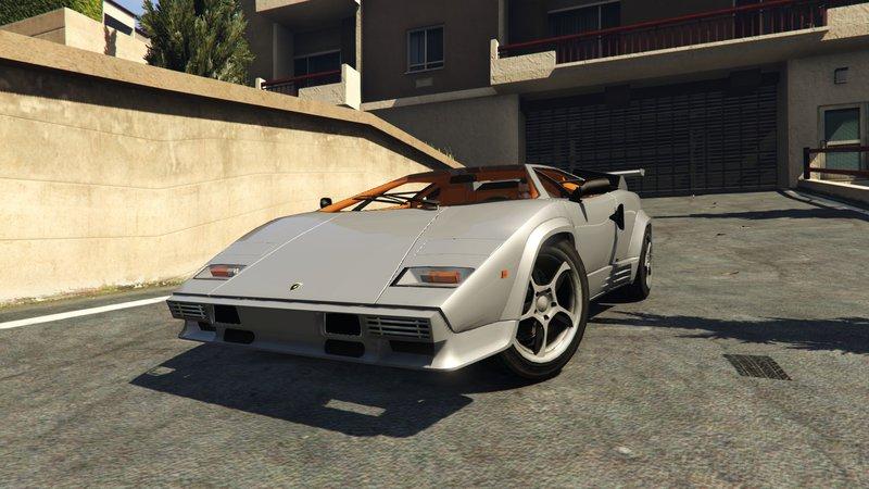 Gta 5 1988 Lamborghini Countach Lp500 Qv Mod Gtainside Com