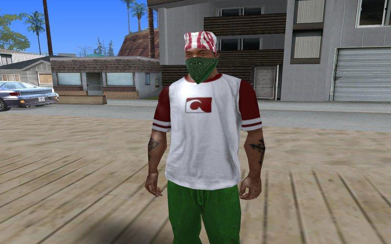 GTA San Andreas Unused Clothes v2 Mod - GTAinside com