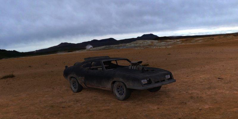 GTA San Andreas Max Interceptor (1973 XB GT Ford Falcon ...
