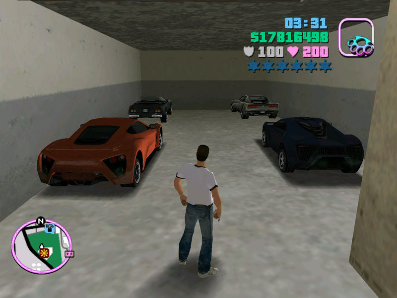 GTA Vice City VC Sport Cars 100 Mission Complete all country and All