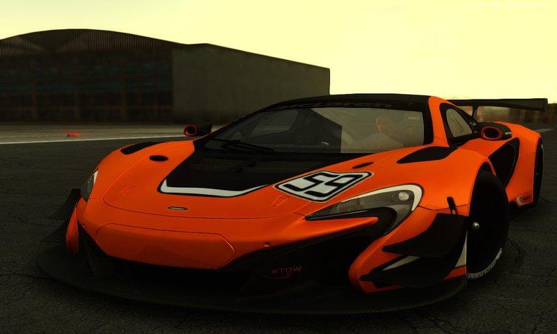 GTA San Andreas 2015 McLaren 650S GT3 Mod - GTAinside.com