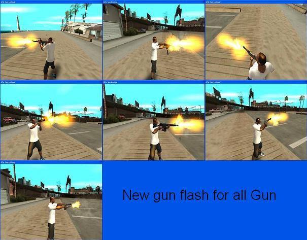 how to make a flash gun