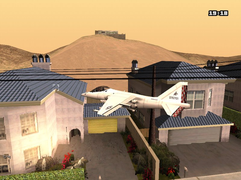 GTA San Andreas Crosshair For Aerial Combat Vehicles Mod - GTAinside com