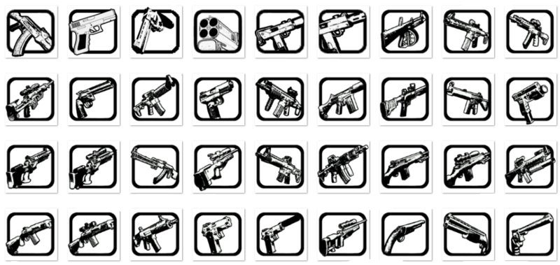 GTA San Andreas Icons For Other Weapons V5 Mod