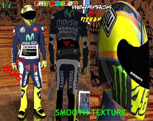 Valentino Rossi Wearpack 2015