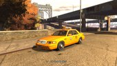 2003 Ford Crown Victoria LA Taxi