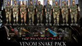 Venom Snake Pack- Metal Gear Solid V The Phantom Pain