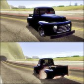 Ford F100 1948 Simple Black Edition