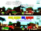 Jeep Willys Cafetero