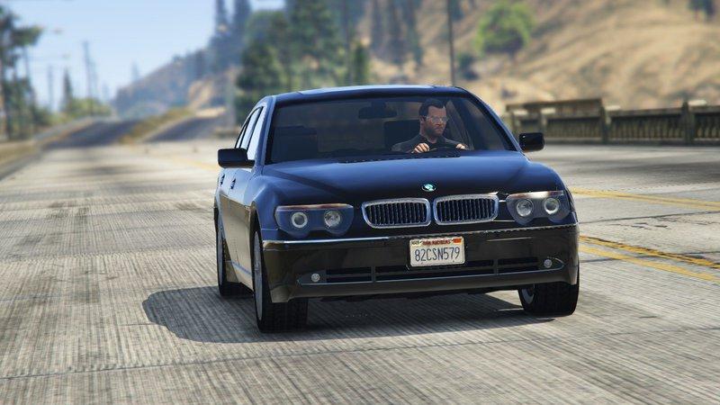 GTA 5 BMW 760i E65 Mod