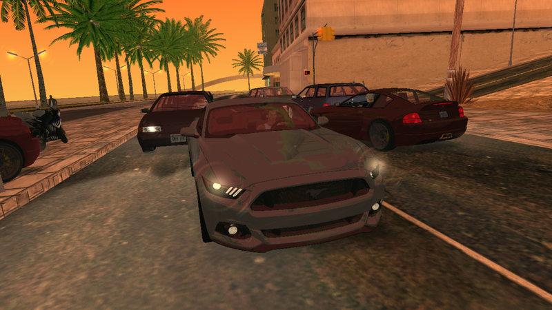 GTA San Andreas Car Reflectors for Android Mod - GTAinside com