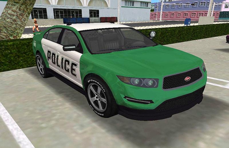 Gta  Cop Car