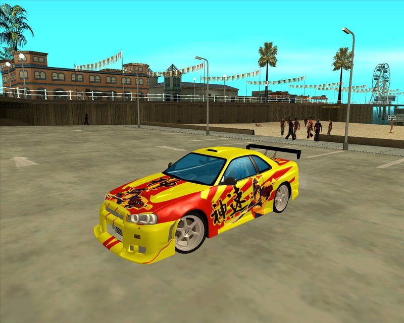 GTA San Andreas Nissan Skyline Street Racing Syndicate Mod ...