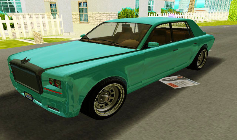 GTA 3 GTA V Enus Super Diamond Mod - GTAinside.com