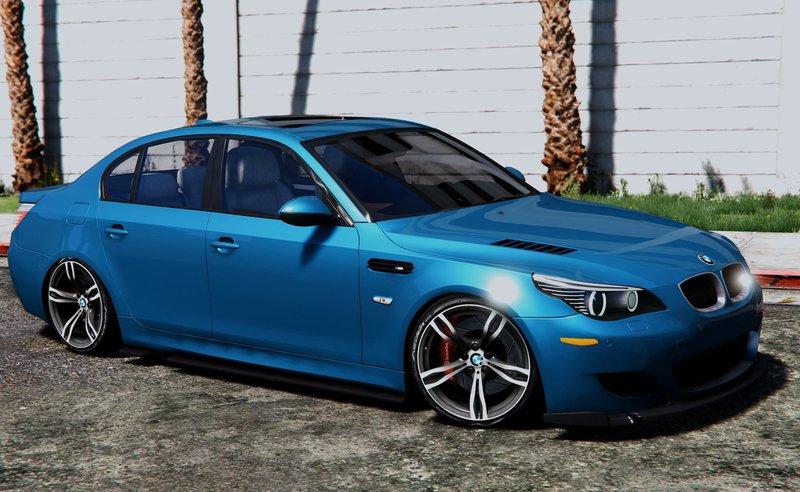 GTA 5 BMW M5 E60 Mod - GTAinside com